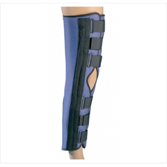 MON79273000 - DJONonHinged Knee Immobilizer PROCARE® Large Hook and Loop Closure 20 Inch Length