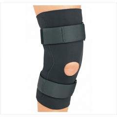 MON79373000 - DJOHinged Knee Brace PROCARE Small Hook and Loop Strap Closure