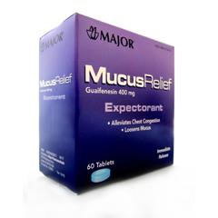 MON79442700 - Major PharmaceuticalsExpectorant 400 mg Strength Tablet 60 per Bottle