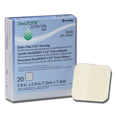 MON79552100 - Convatec - Duoderm Cgf Extra Thin Sterile Dressing Spots 4in x 4in Hydrocolloid