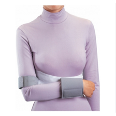 MON79843000 - DJOShoulder Immobilizer Small, 32 - 36 Inch L Nylon / Elastic / Foam Waist Band / Hook and Loop Closure Left or Right Arm