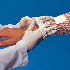 MON79902000 - Derma SciencesSurgilast Tubular Elastic Dressing Retainer 25 Yd Stretched White Size9