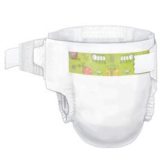 MON724688CS - Cardinal Health - Curity™ Baby Diapers - Size 3, 16-24 lbs, 224/CS