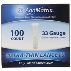 MON80052400 - Agamatrix - Wavesense® Keynote Lancets 33G