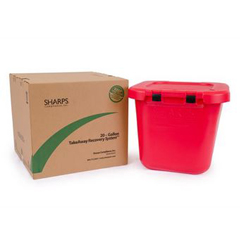 MON80202800 - Sharps Compliance20-Gallon TakeAway Recovery System