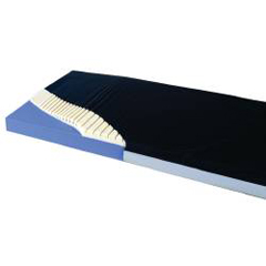 MON80290500 - Span AmericaBed Mattress Geo-Mattress® Plus Therapeutic Mattress 35 X 80 X 6 Inch