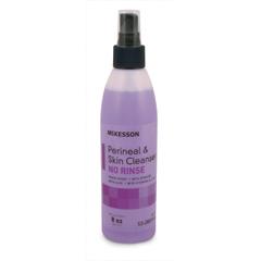 MON80311800 - McKessonPerineal Wash No Rinse Liquid 8 oz. Spray Bottle Fresh Scent