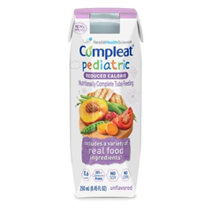 MON80742601 - Nestle Healthcare NutritionPediatric Tube Feeding Formula COMPLEAT® Reduced Calorie, 250 ml