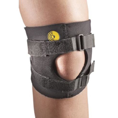 MON80833000 - AlimedKnee Brace Small D-Ring / Hook and Loop Strap Closure 13 to 14 Inch Knee Circumference 6 Inch Length Left or Right Knee, 1/ EA
