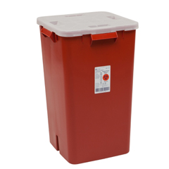 MON80892800 - MedtronicSharps-A-Gator™ Sharps Container, Red, 19 Gallon