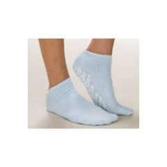 MON81021000 - Alba HealthcareSlipper Socks Care-Steps Child Yellow Above the Ankle