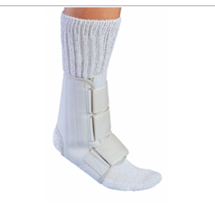 MON81063000 - DJOAnkle Splint PROCARE Medium Hook and Loop Closure Left or Right Foot