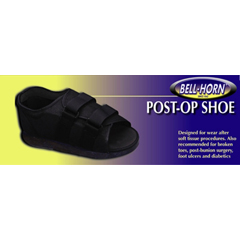 MON81143000 - DJOPost-Op Shoe Medium Black Female