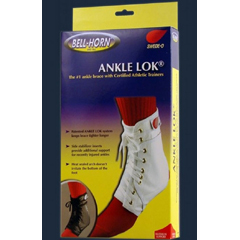 MON81183000 - DJOAnkle Brace Swede-O Ankle Lok® Large Lace-Up / Figure-8 Strap Size 11 to 12 Male, 12 to 13 Female Left or Right Ankle