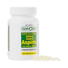 MON81302700 - McKessonAspirin Tablets 81 mg, 300EA per Bottle