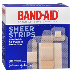 MON81372000 - Johnson & JohnsonAdhesive Bandage Band-Aid® Assorted, 80EA/BX