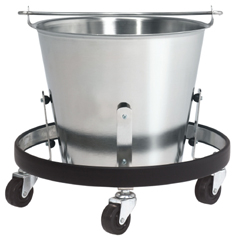 MON81483201 - McKesson - Kick Bucket entrust™ Performance 13 Quart Stainless Steel