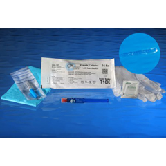 MON1034693BX - Cure Medical - Cure Twist® Intermittent Catheter Kit, 16 Fr. (T16K), 30/BX