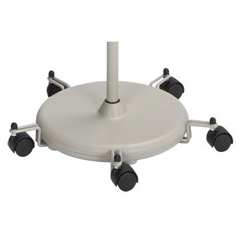 MON81653209 - McKessonentrust™ Five Caster Base for Exam Lights