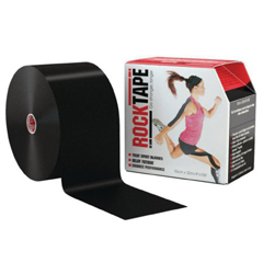 MON81672201 - Patterson Medical - Kinesiology Tape RockTape® Mini Big Daddy Cotton 4 Inch X 16.4 Inch NonSterile