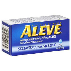 MON81842700 - BayerAleve® Pain Relief 220 mg Strength Tablets, 100 per Bottle