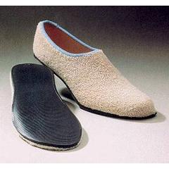 MON82071000 - Alba HealthcareSlippers Care-Steps II Tan Below the Ankle