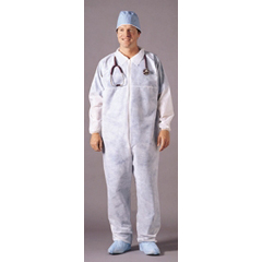 MON82151100 - McKessonGeneral Purpose Coverall Medi-Pak® Performance X-Large White Disposable NonSterile, 25EA/CS