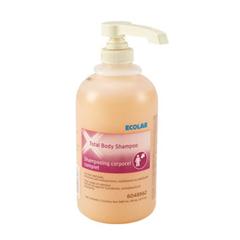 MON82221800 - EcolabShampoo and Body Wash Accent Plus® Total Body 540 mL Bottle, 12EA/CS