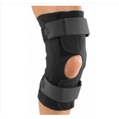 MON82393000 - DJOHinged Knee Brace Reddie® Brace Small Wraparound / Hook and Loop Straps 15-1/2 to 18 Inch Circumference Left or Right Knee