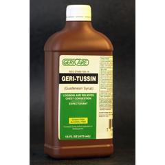 MON82502712 - McKessonCough Relief 100 mg Strength Liquid 16 oz.