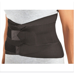 MON302541EA - DJO - Lumbar Sacral Support PROCARE® Large Hook and Loop Closure 39 - 45 Inch Waist 9 Inch Width Unisex
