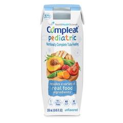 MON82602624 - Nestle Healthcare NutritionPediatric Tube Feeding Formula Compleat® Pediatric 250 Calories Unflavored 250 mL, 24EA/CS