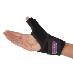 MON82773000 - DJOThumb Support Universal Thumb-O-Prene® Wraparound Neoprene Left or Right Hand Black One Size Fits Most