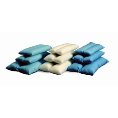 MON83223000 - MedlineHeel Positioning Pillow ProRest® 18 X 24 X 4-1/2 Inch Light Blue Reusable, 2EA/CS
