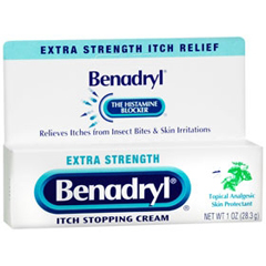 MON83322700 - Johnson & JohnsonItch Relief Benadryl® 1 oz. 2%/ 0.1% Cream