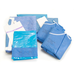 MON83392100 - McKesson - Abdominal Drape Pack, 3PK/CS