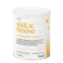 MON85002600 - Abbott NutritionSimilac® PM 60/40 Infant Formula