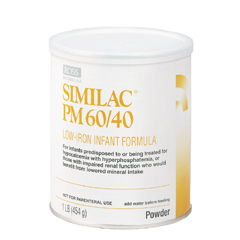 MON85002601 - Abbott NutritionSimilac® PM 60/40 Infant Formula