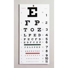 MON85022500 - Moore MedicalSnellen Eye Chart