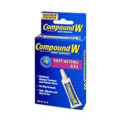 MON85072700 - Medtech Laboratories - Wart Remover Compound W 17% Strength Gel 0.25 oz.
