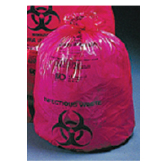 MON85121100 - McKessonInfectious Waste Bag Medi-Pak® SAF-T-SEAL® 33 X 40 Inch Printed, 250EA/CS
