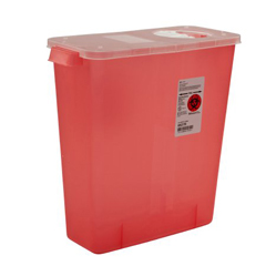 MON85272800 - MedtronicMulti-Purpose Container with Rotor and Hinged Opening Lid, 10/CS