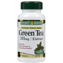 MON85282700 - US NutritionGreen Tea Extract Supplement Natures Bounty 315 mg Strength Capsule , 100 per Bottle