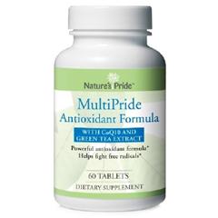 MON85292700 - Nature's ProductsAntioxident Supplement Natures Pride Multipride Tablet 60 per Bottle