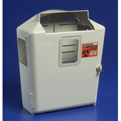 MON85302800 - MedtronicSharpSafety™ Wall Enclosure, For In Room Sharps Container, 2 and 3 Gallon