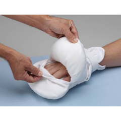 MON85363000 - PoseyHand Control Mitt Peek-A-Boo One Size Fits Most Hook and Loop Closure Without Straps