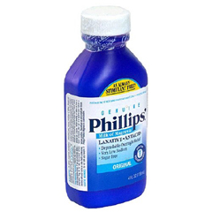 MON85432700 - BayerLaxative Phillips Milk of Magnesia Original Liquid 4 oz. 1200 mg Strength Magnesium Hydroxide