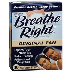 MON85662700 - Glaxo Smith KlineNasal Strips Breathe Right 30 per Box Strip