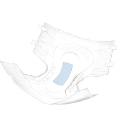 MON85663100 - McKessonAdult Incontinent Brief PrimaGuard Elite Tab Closure Large Disposable Moderate Absorbency, 18/BG, 4BG/CS