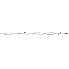 MON85702801 - Baxter - Administration Set Continu-Flo® 10 Drops / mL Drip Rate 106 Tubing 1 Port